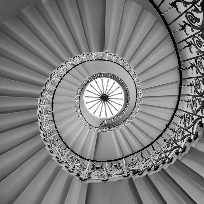 Queen's House staircase, Greenwich, UK